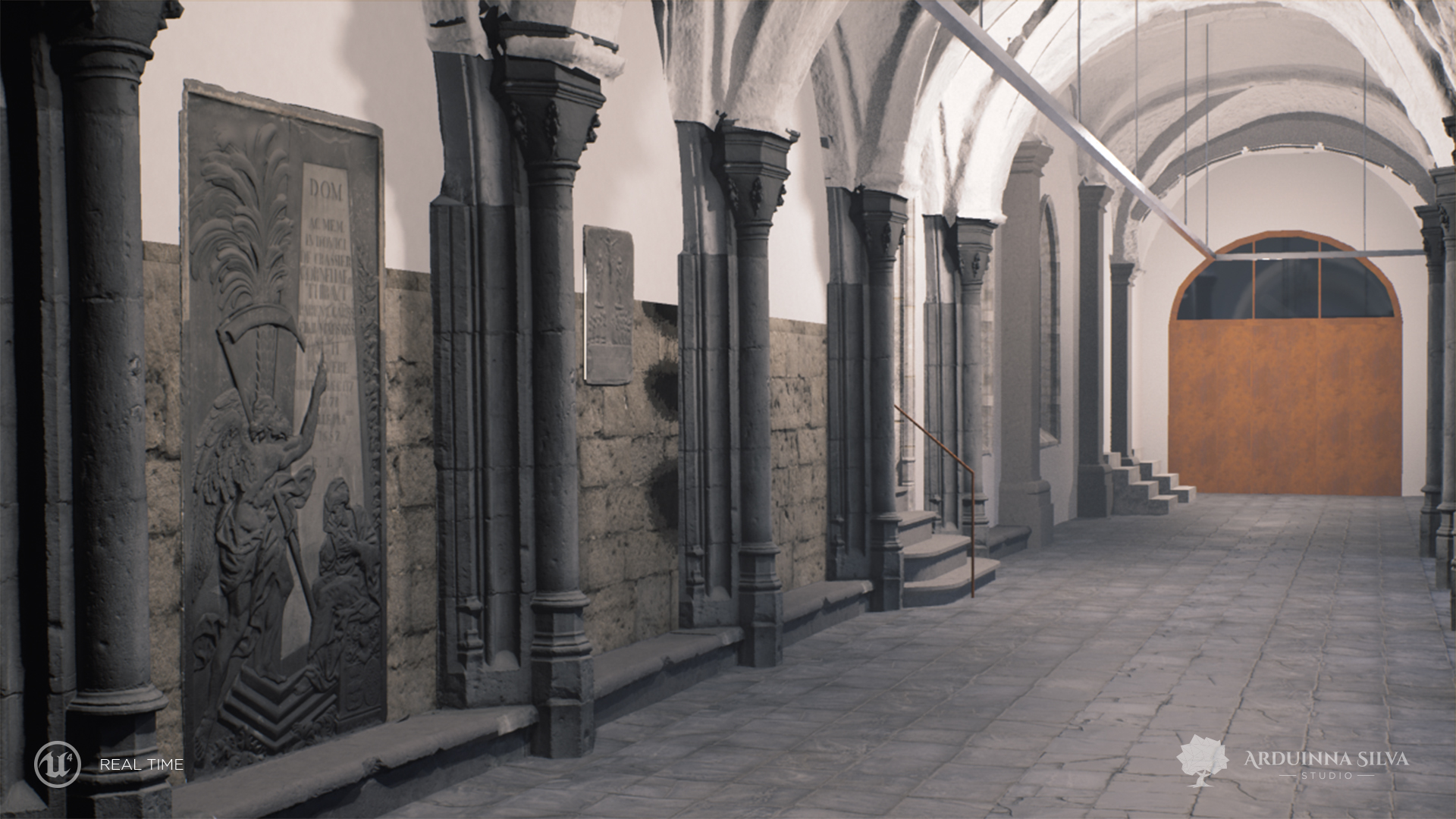 Cloister Saint-Jean renovation